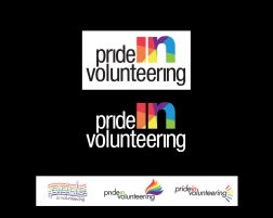 CREATIVE a not-for-profit organization required a logo for their volunteering program, focusing on the LGBTQ community activities throughout ontario. direction was... no flags... nothing stereotypical...i had to try one anyway. they also wanted to hit home the idea of INCLUSION. we tried many variations - as it was thought the final was 'too simple'. the final was actually the first concept. with discussion - they understood that type with a graphic was what all 'big name' logos use. it stands on it's own, it's powerful... and gave them a clever branding icon that could be used independently. bottom row is a small selection of other options created