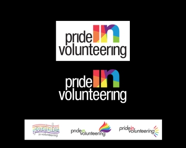 my role CREATIVE a not-for-profit organization required a logo for their volunteering program, focusing on the LGBTQ community activities throughout ontario. direction was... no flags... nothing stereotypical...i had to try one anyway. they also wanted to hit home the idea of INCLUSION. we tried many variations - as it was thought the final was 'too simple'. the final was actually the first concept. with discussion - they understood that type with a graphic was what all 'big name' logos use. it stands on it's own, it's powerful... and gave them a clever branding icon that could be used independently. bottom row is a small selection of other options created