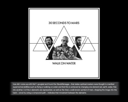 my role DESIGN when you hear that a band you love requests artwork ideas... you CREATE. a metric s••t-tonne of artworks were uploaded... but you never know - tomo, shannon and jared might see this someday. stranger things have happened! #walkonwater #30secondstomars #thirtysecondstomars #jaredleto #tomofromearth #shannonleto